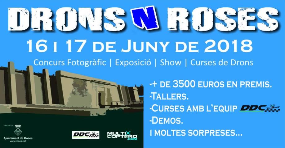 Arriba a Roses la 3a edició del Festival Drons N' Roses