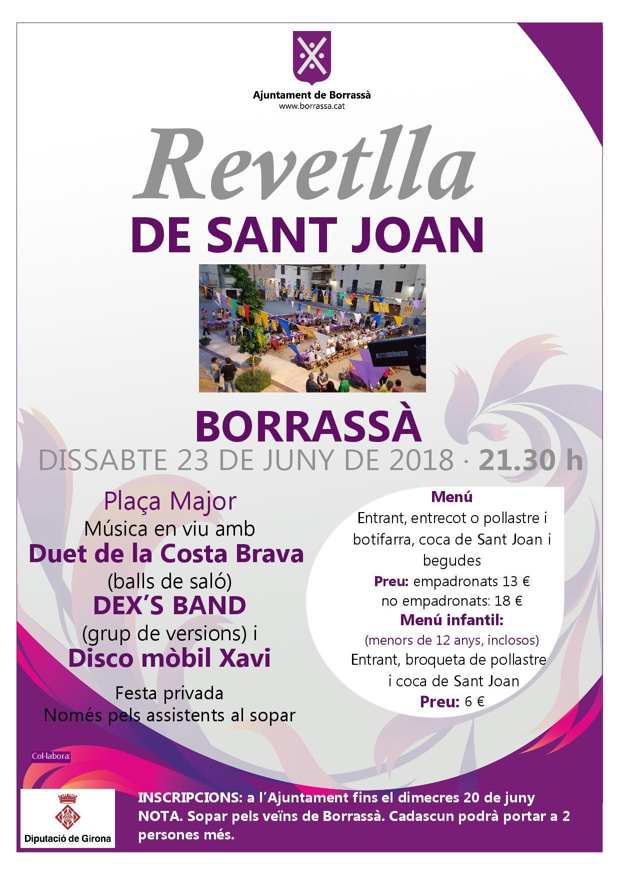 Revetlla de Sant Joan a Borrassà