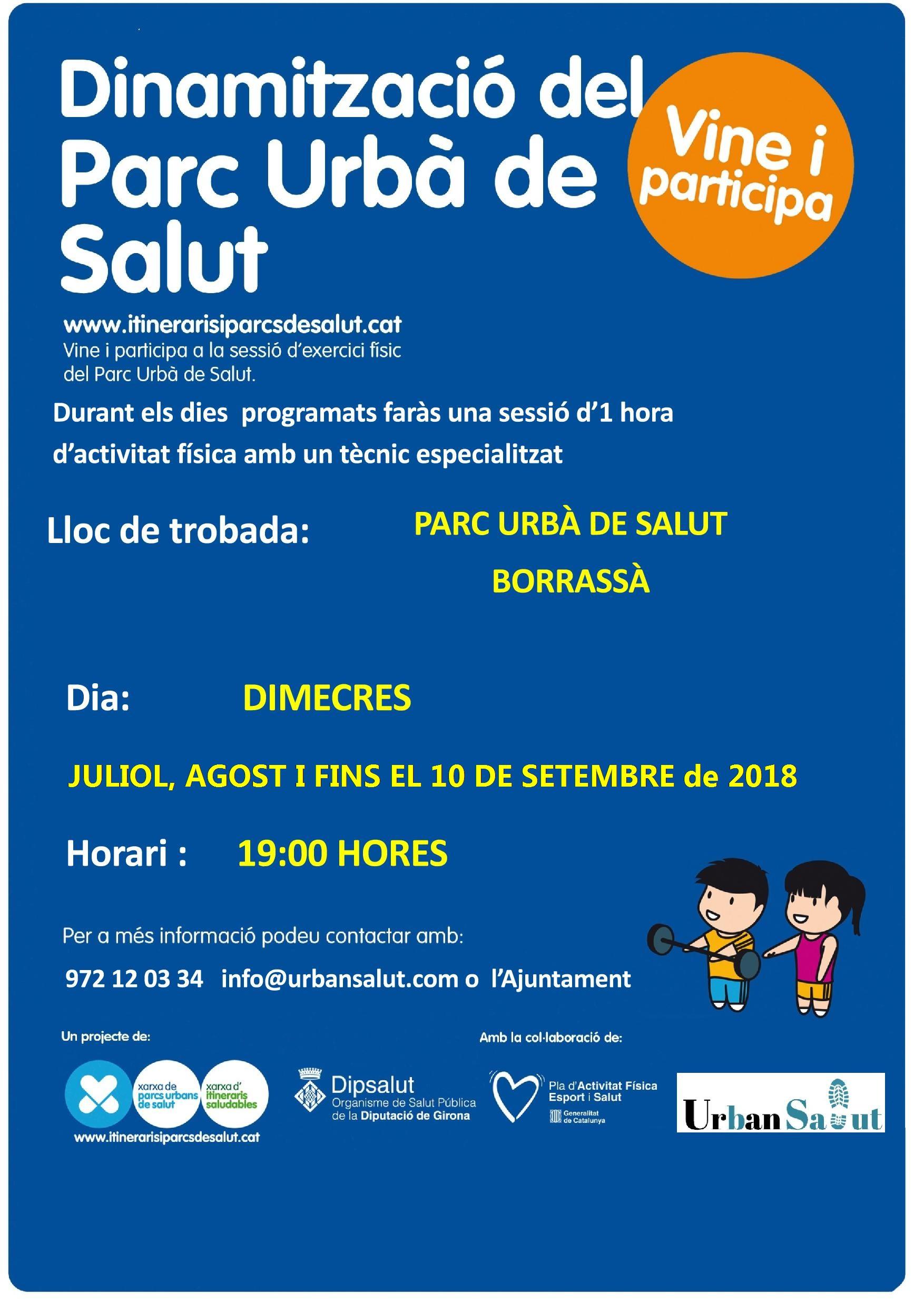 Dinamització del Parc Urbà de Salut de Borrassà