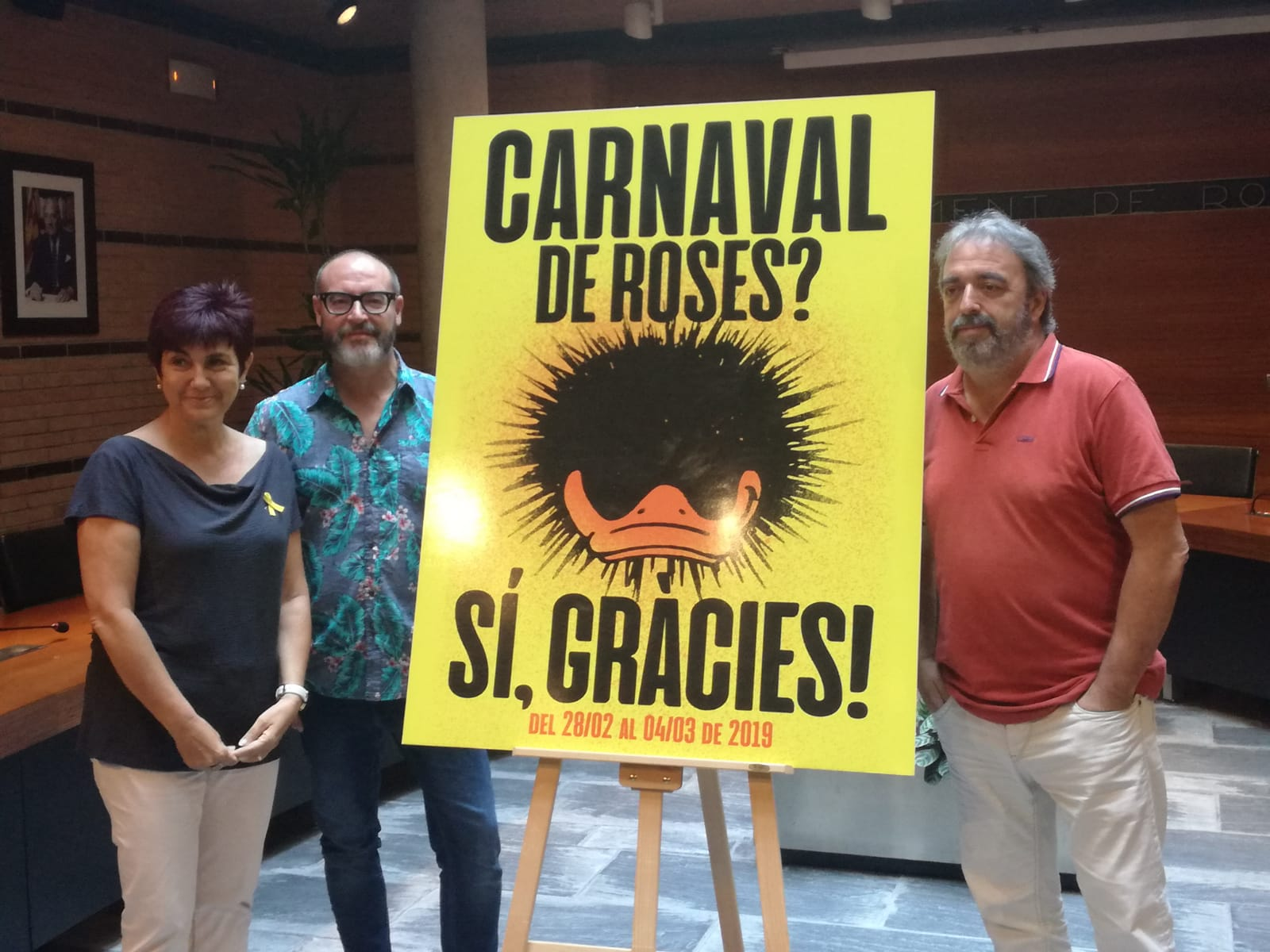 Ja tenim Cartell per al Carnaval de Roses 2019