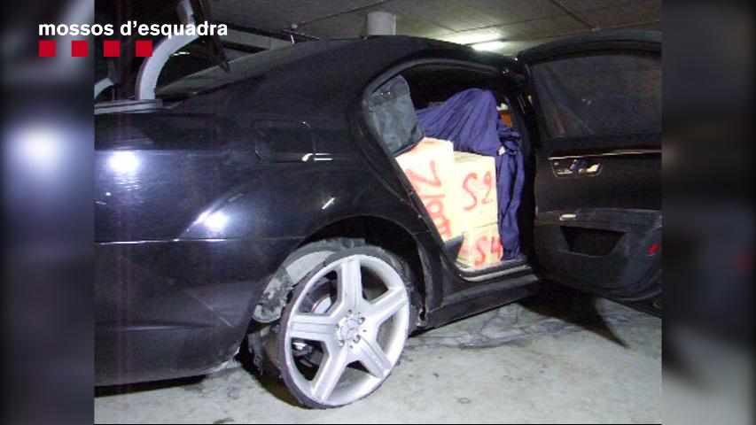 Desarticulat un grup criminal especialitzat en el tràfic i transport de drogues pel mètode Go Fast