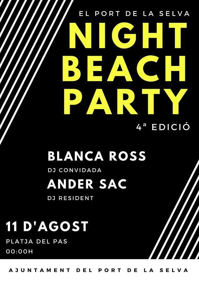 Night Beach Party a El Port de la Selva