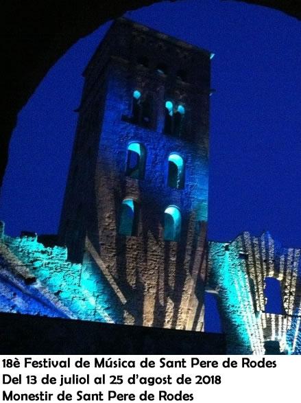 18è Festival de Música de Sant Pere de Rodes