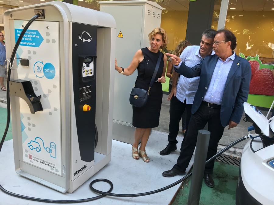 L'Ajuntament de Figueres posa en funcionament els primers punts de càrrega públics per a vehicles elèctrics