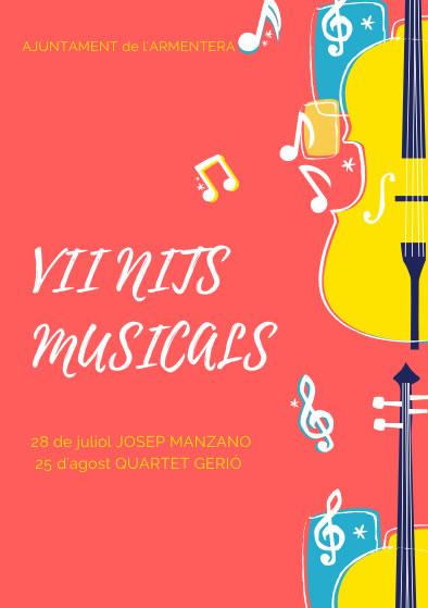 VII nits musicals a l'Armentera