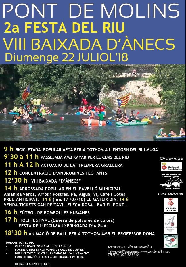 2a Festa del Riu de Pont de Molins