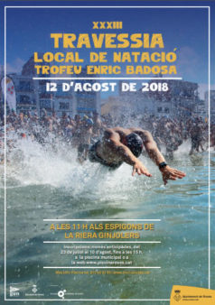 travessia local de natacio festa major de roses 2018