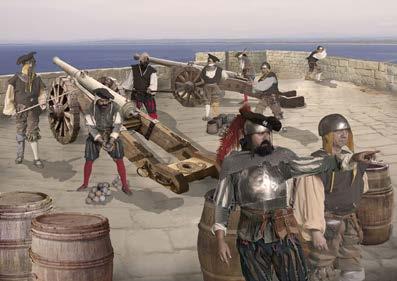 Imatges 3D, audiovisuals i museografia virtual dotaran de dinamisme i espectacularitat la museïtzació del Castell de la Trinitat