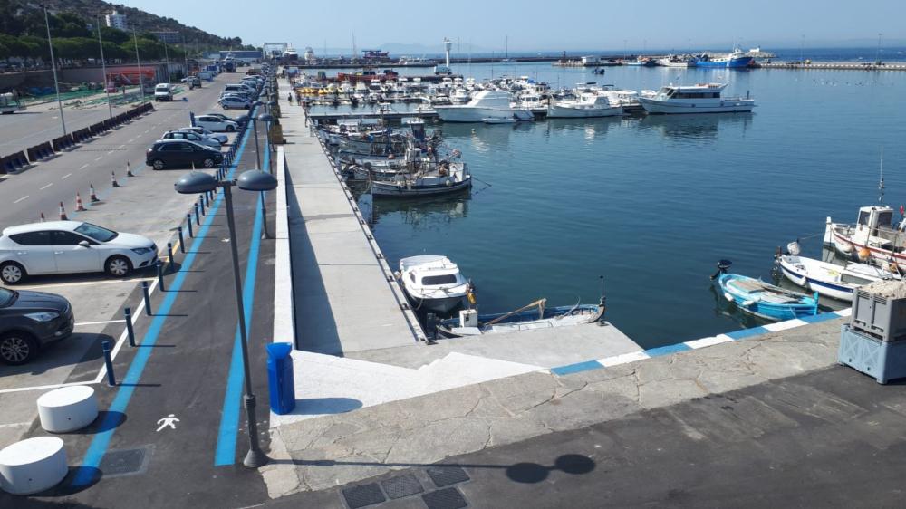 Ports de la Generalitat finalitza la modernització del port pesquer de Roses