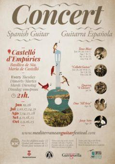 Concerts de guitarra espanyola a la Basílica de Santa Maria de Castelló d'Empúries