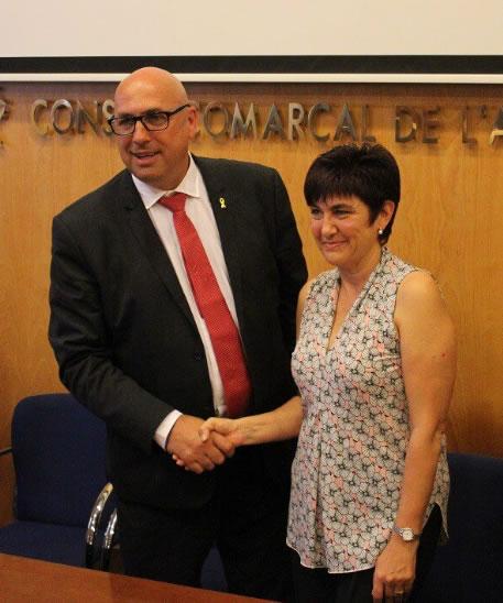 Montserrat Mindan ha signat els decrets que configuren la nova estructura del Consell Comarcal de l'Alt Empordà