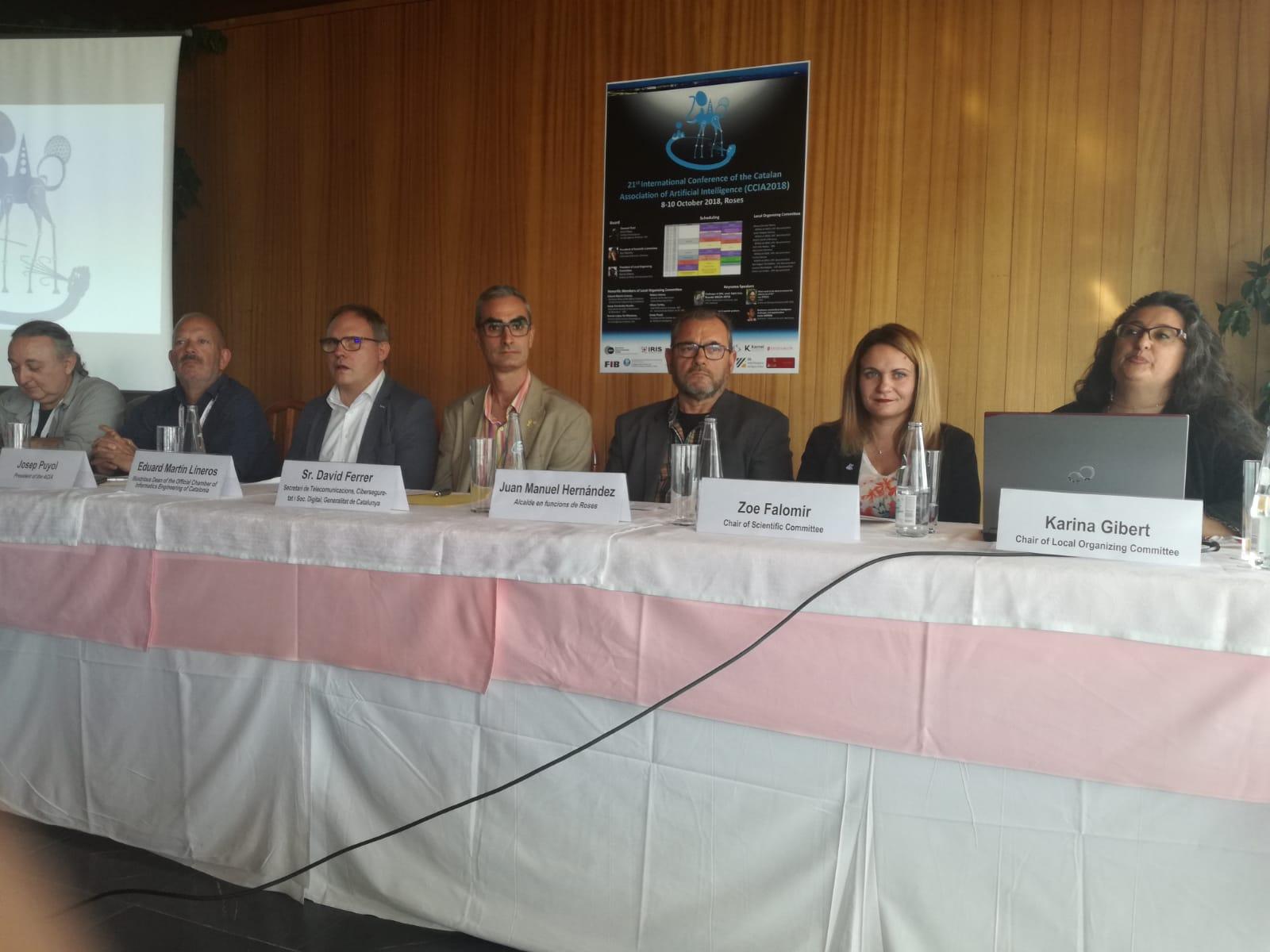 Roses acull la Conferència Internacional de l'Associació Catalana d'Intel·ligència Artificial