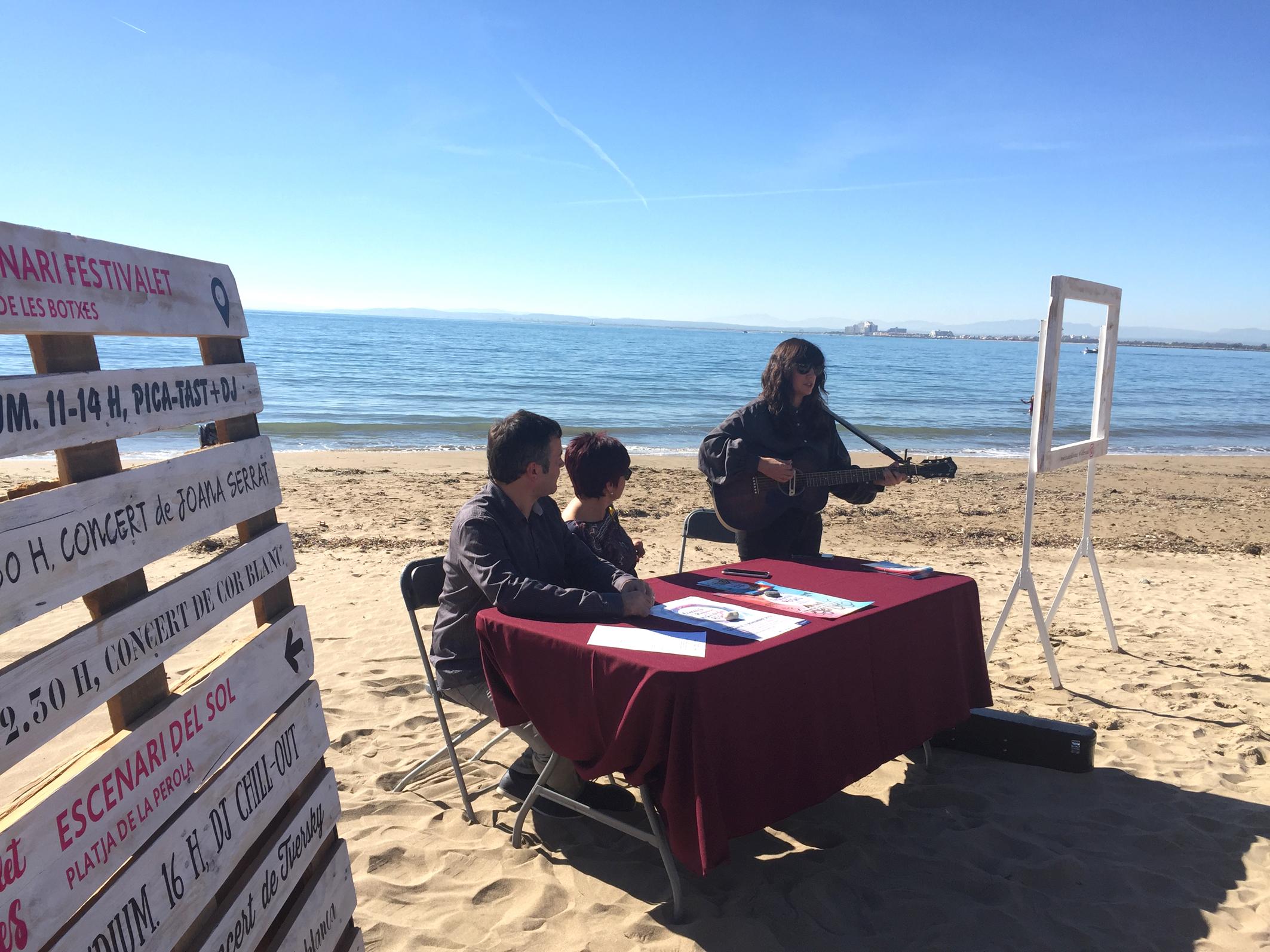 Joana Serrat, Floridablanca, Tversky, Beth i Cor Blanc actuaran a la platja de Roses durant el Festivalet el 10 i 11 de novembre
