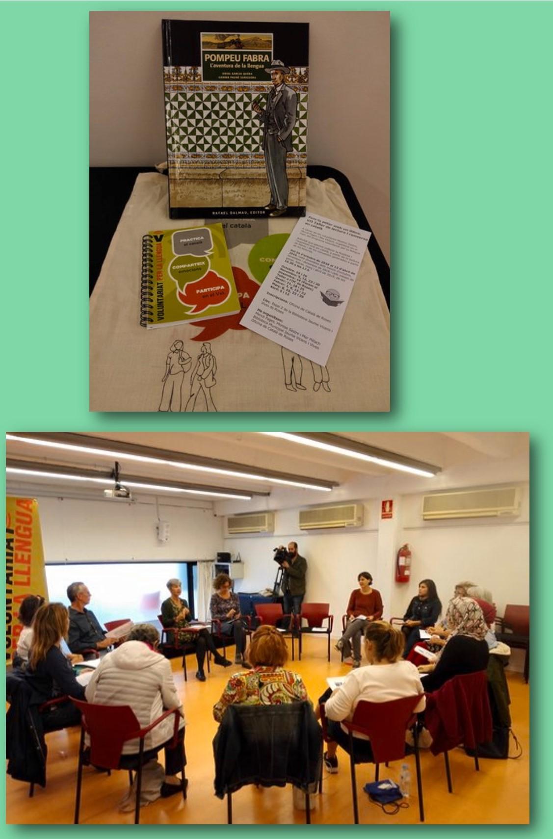 Comença el  VII Taller de lectura i conversa en català de l'Oficina de Català de Roses