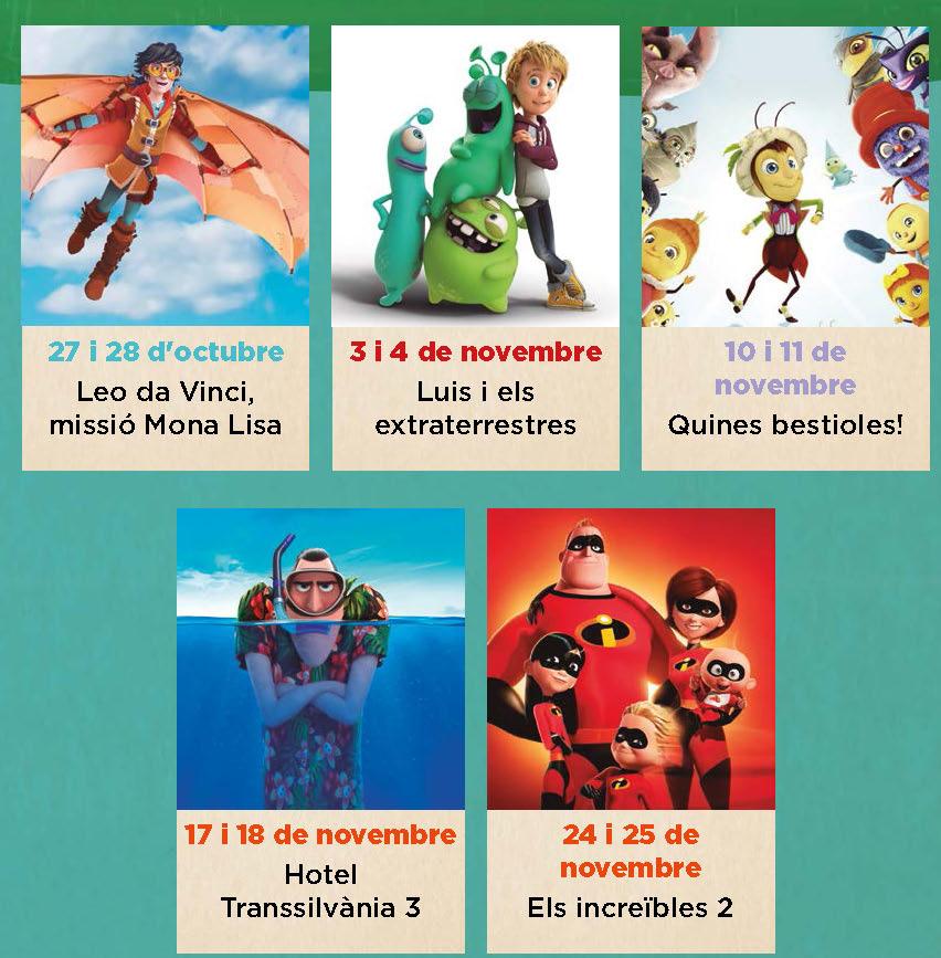 El Cinema Infantil en Català (CINC) torna aquesta tardor als Cinemes Roses