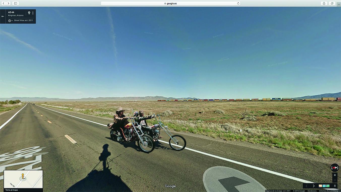 Els mons paral·lels de Google Street View, en una mostra a Ca l'Anita