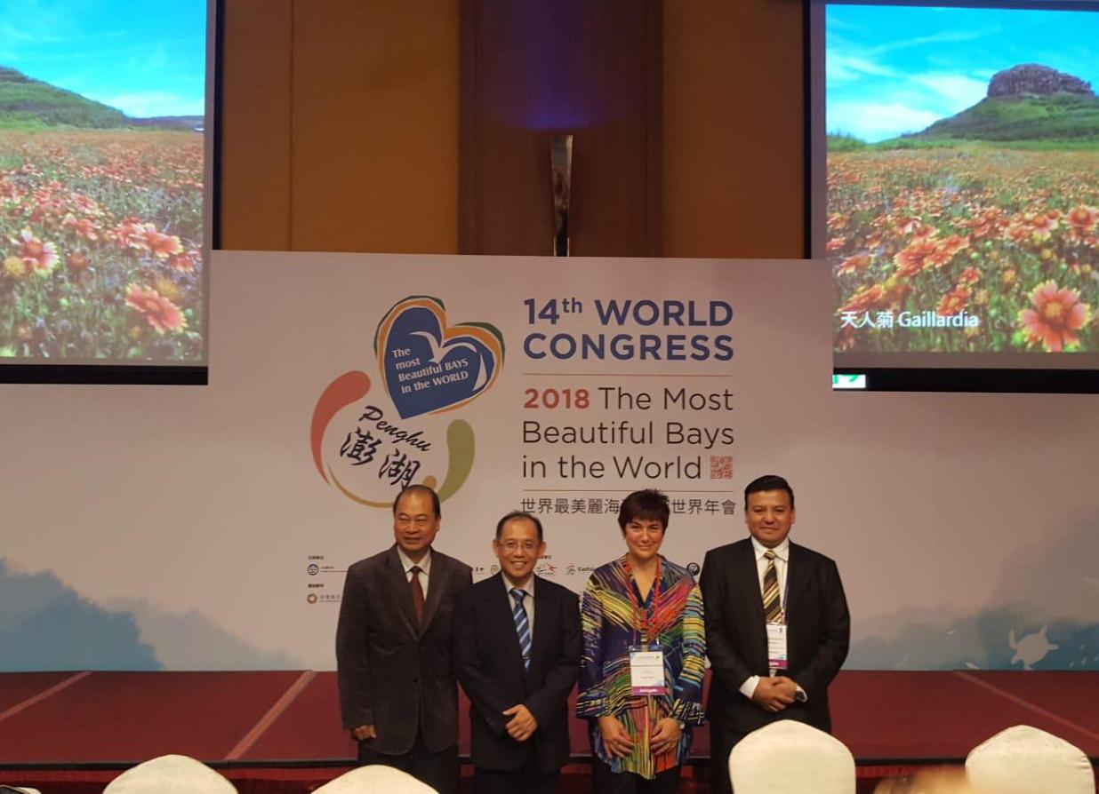 Montse Mindan exposa a Taiwan el model pesquer i les accions de protecció del medi marí a Roses