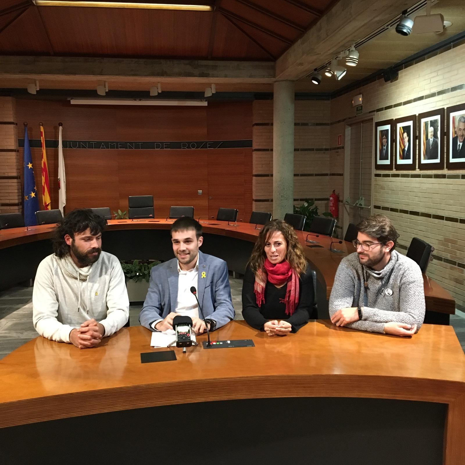 ERC presenta les seves demandes per a facilitar els pressupostos municipalsdel 2019 a Roses
