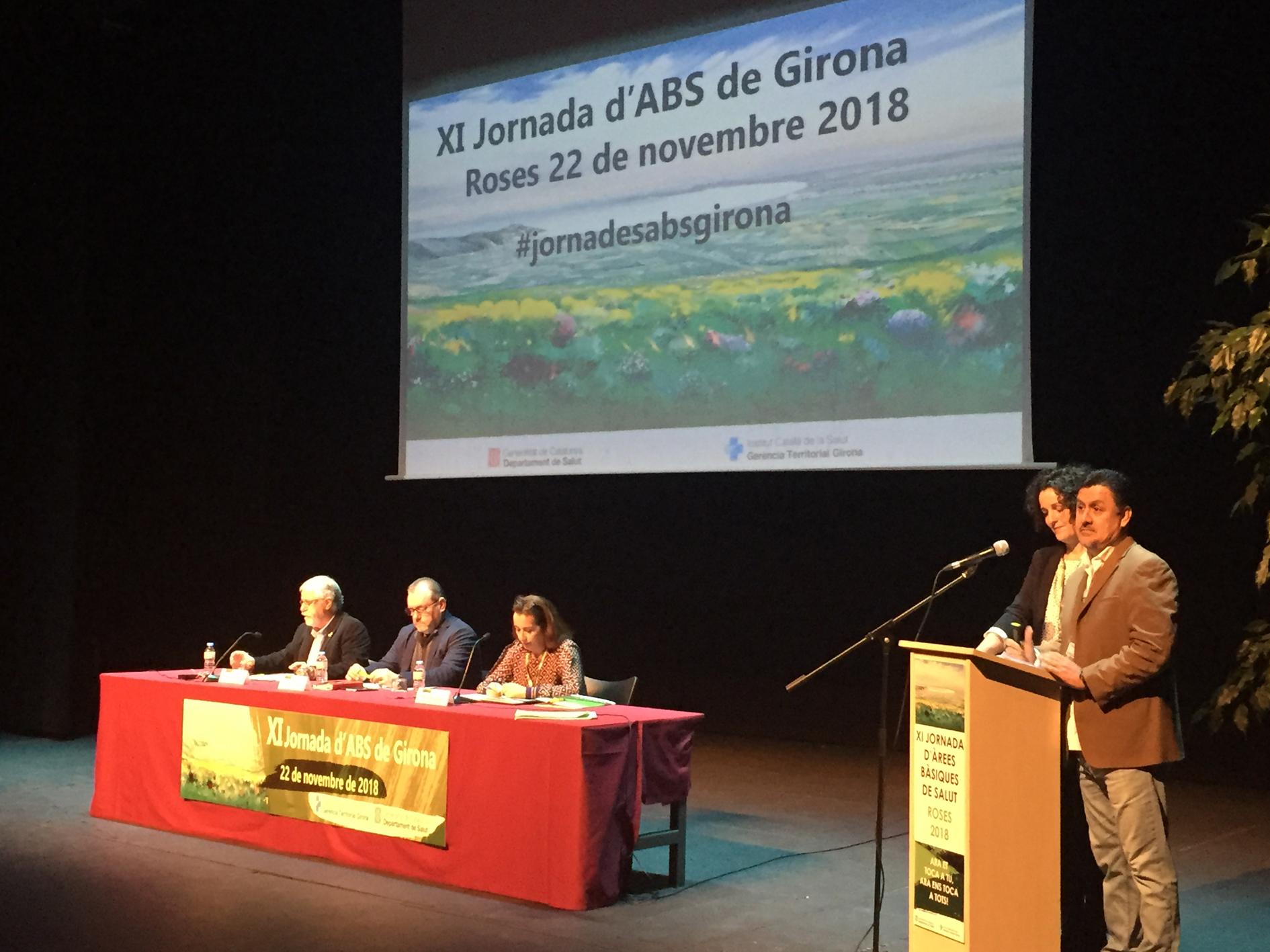 El Teatre Municipal de Roses acull la XI Jornada d'Àrees Bàsiques de Salut de Girona