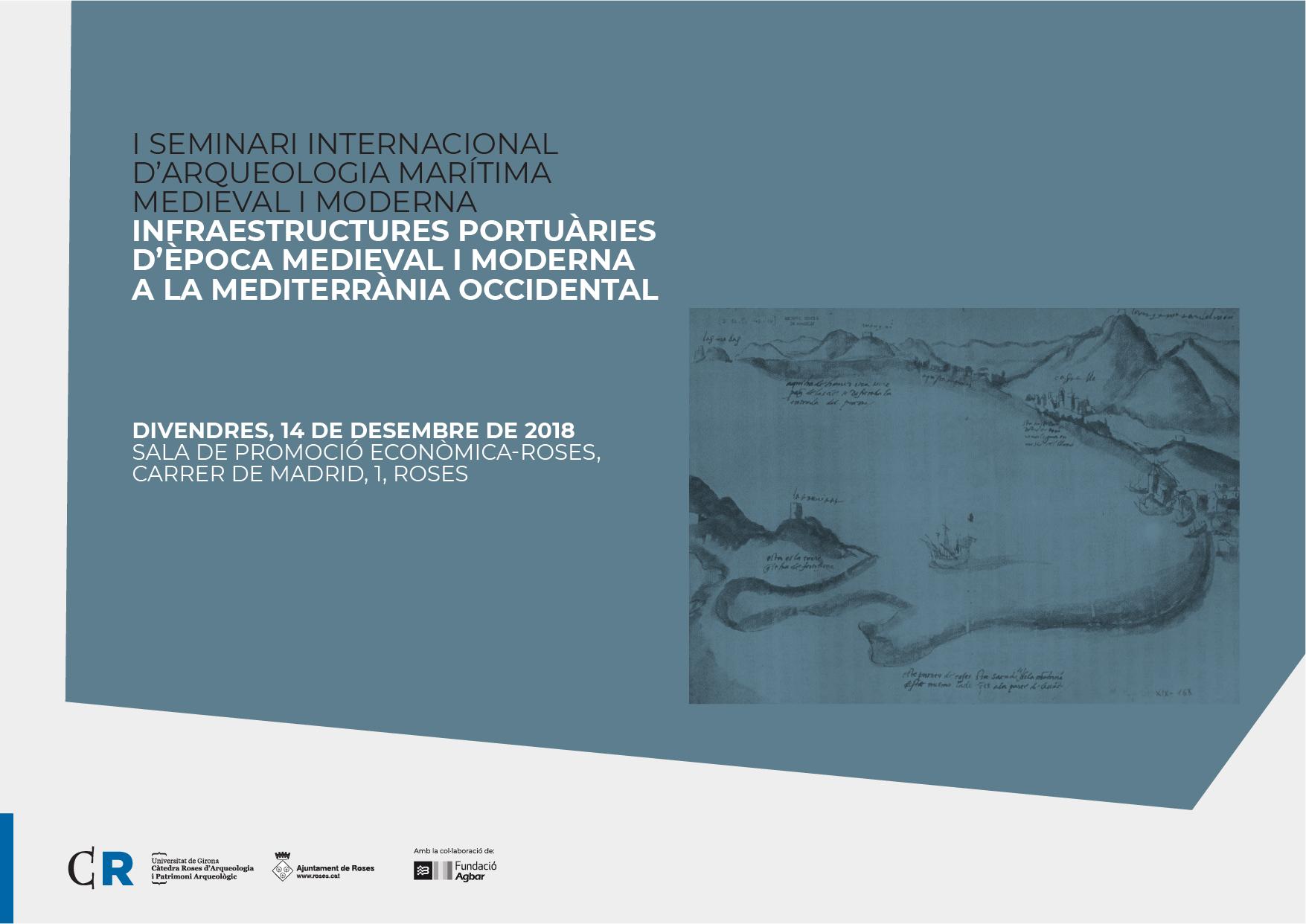 I Seminari Internacional d'Arqueologia Marítima Medieval i Moderna a Roses