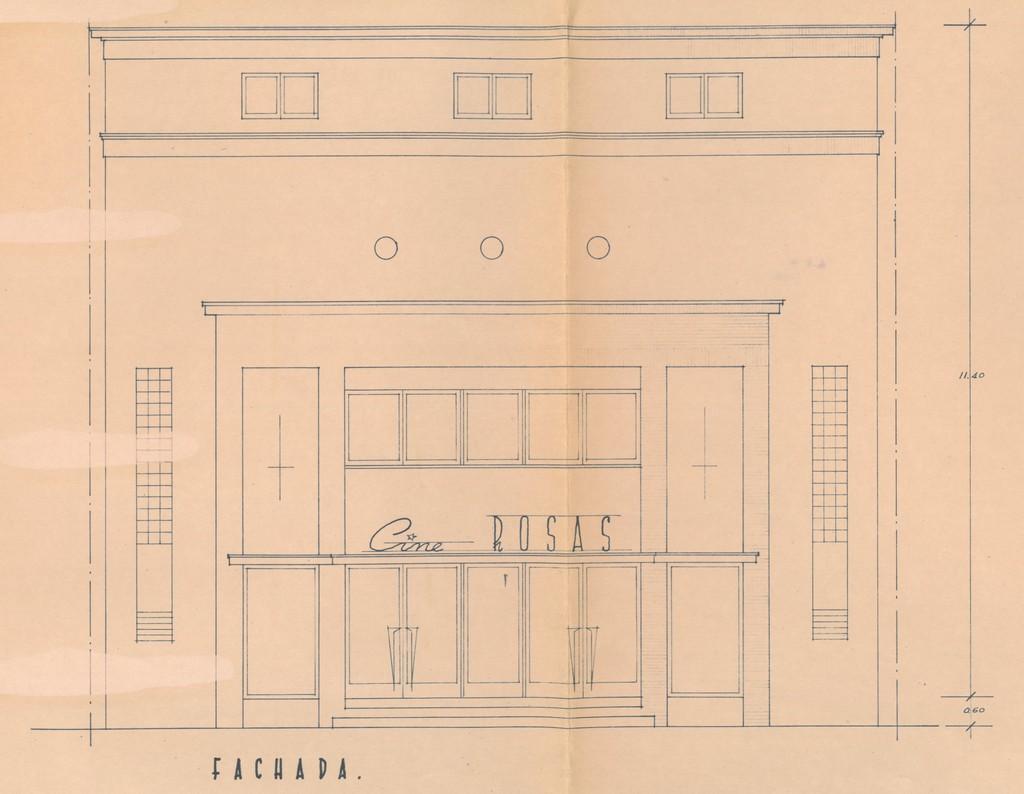 La transformació de la façana de l'antiga societat La Flor de Maig, al Document del Mes de l'Arxiu de Roses