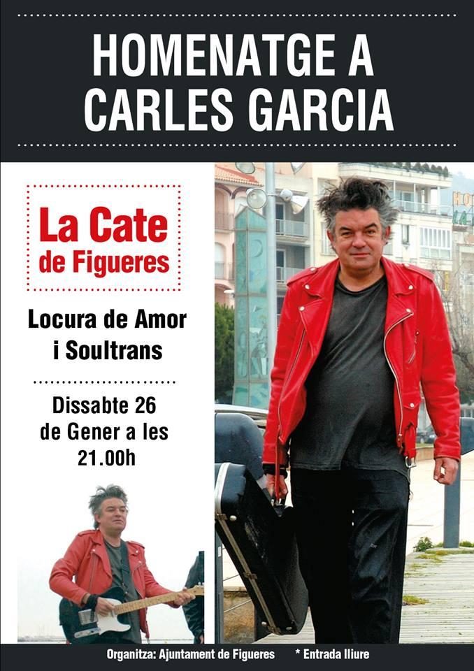 Figueres homenatjarà al músic rosinc Carles Garcia