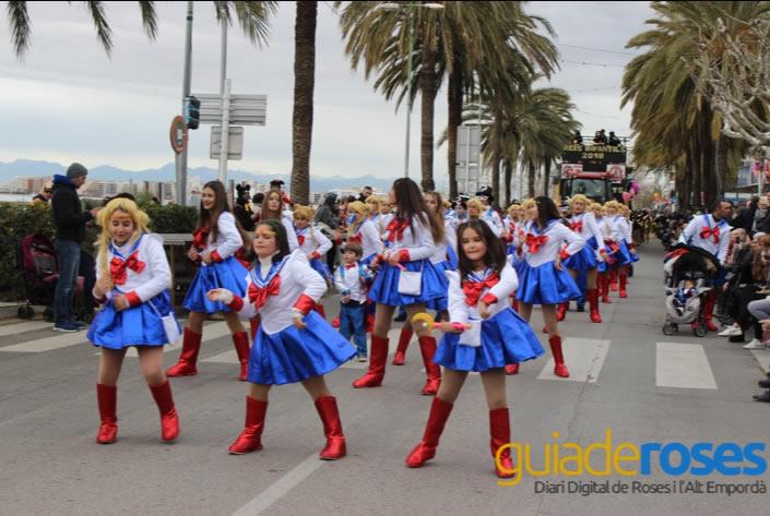 Les Colles ja es poden inscriure al Carnaval de Roses 2019
