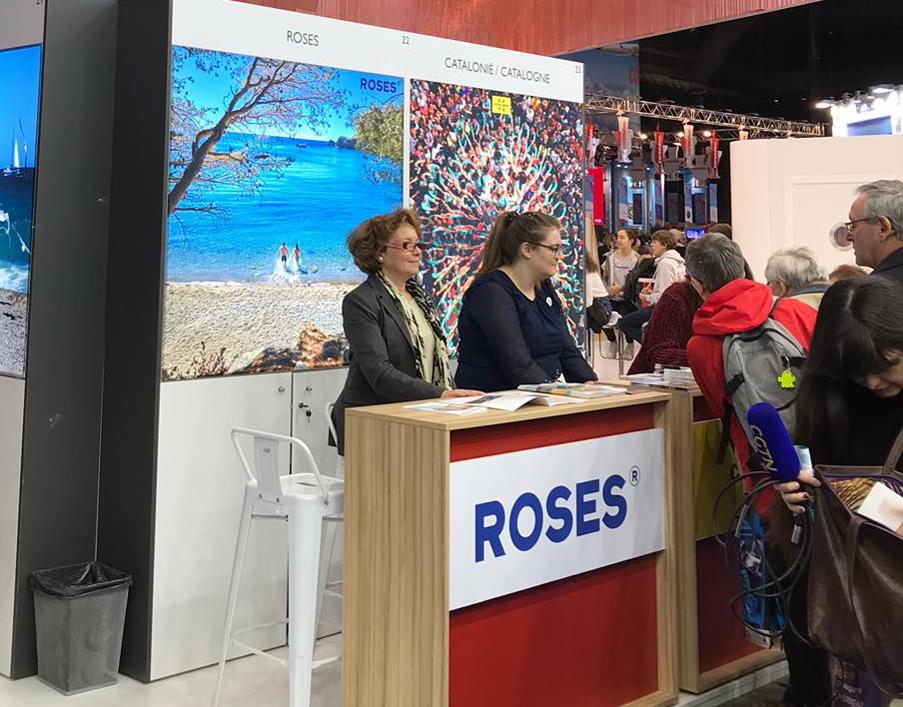 Roses es promociona al Salon des Vacances de Brussel·les per fidelitzar el mercat turístic belga