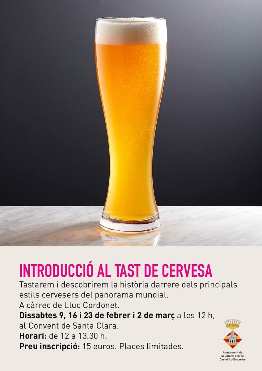 Introducció al tast de cervesa a Castelló d'Empúries