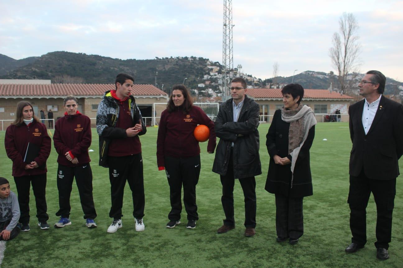 51 nens i nenes de Roses participen en la 7a edició del programa d'inclusió social de la Fundació Barça