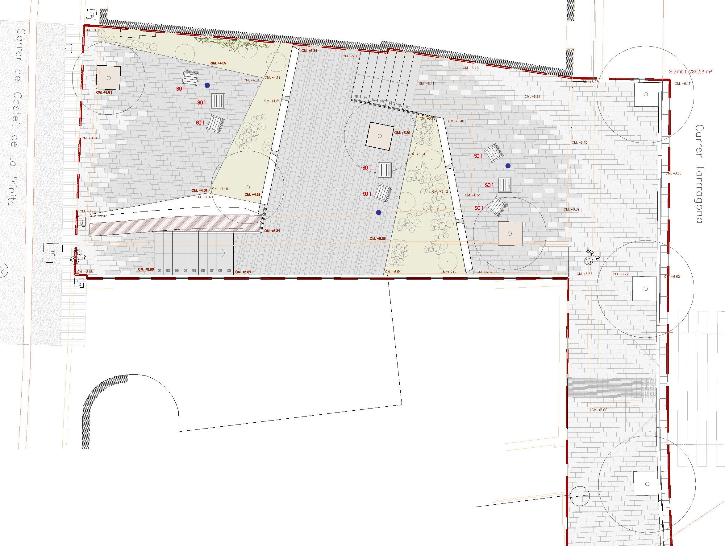 Millora urbana del nucli de Roses amb connexió per a vianants entre els carrers Tarragona i Trinitat