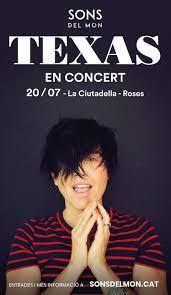 Texas actuarà a la Ciutadella de Roses el 20 de juliol
