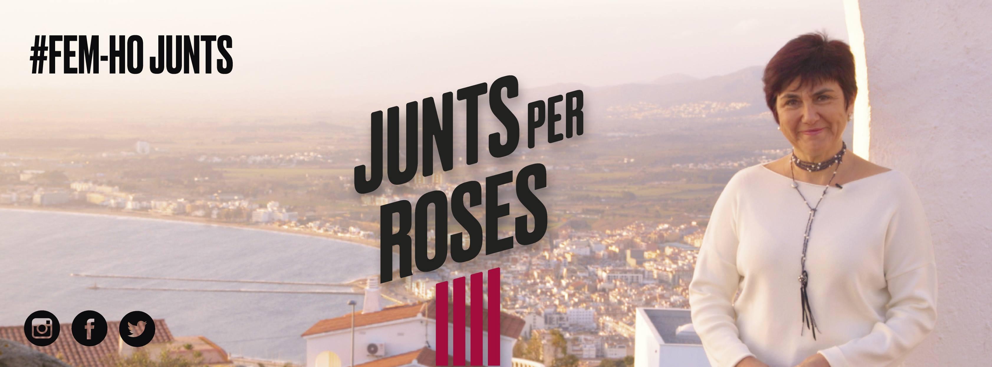 Junts per Roses, continua avançant en la seva precampanya, després que es presentés públicament el desembre passat amb el President Artur Mas