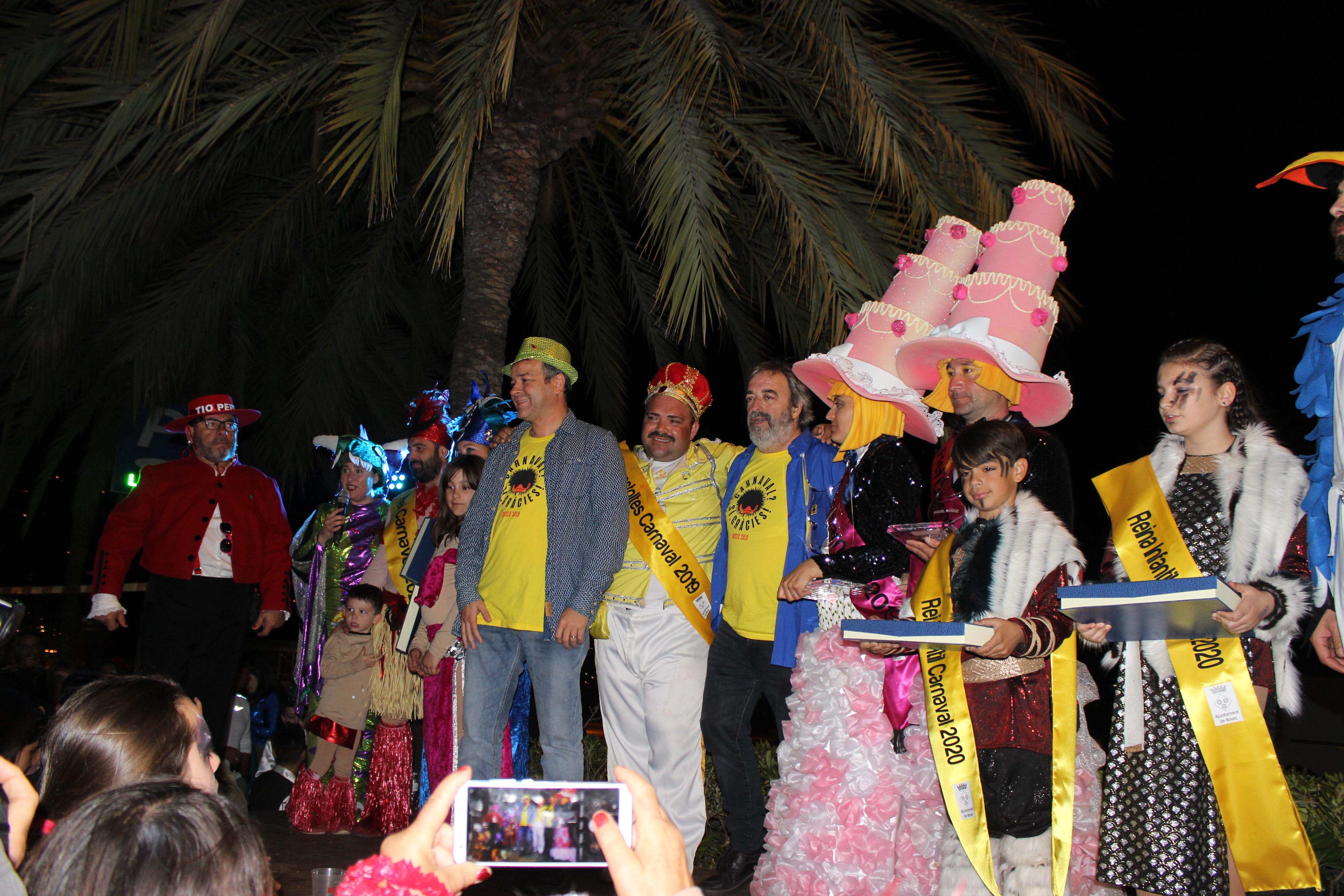 Ja tenim Reis per al Carnaval de Roses 2020