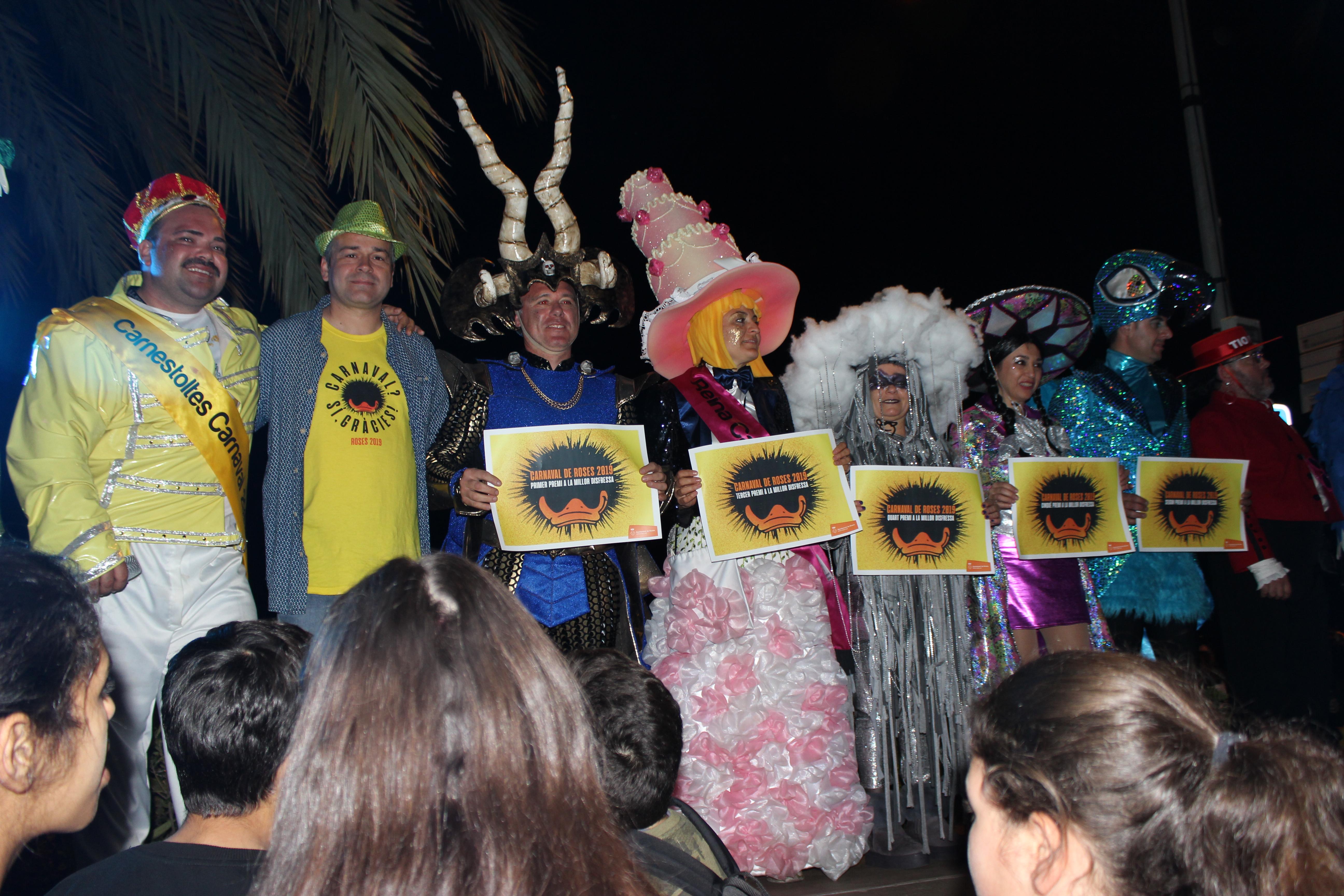 La Colla del Tech i Los Nenucos guanyadors dels premis del Carnaval de Roses 2019