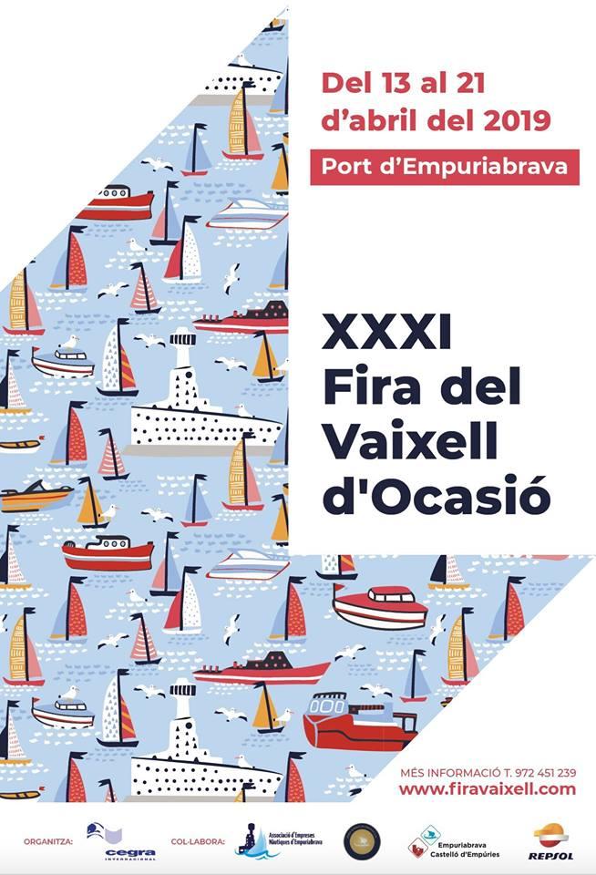 XXXI Fira del vaixell d'ocasió a Empuriabrava