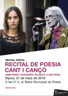 recital poetic a roses
