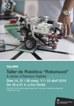taller de robotica a roses