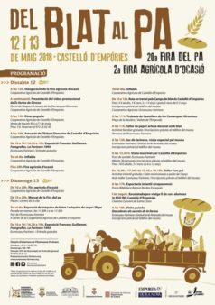 20a Fira del Pa Castelló d'Empúries
