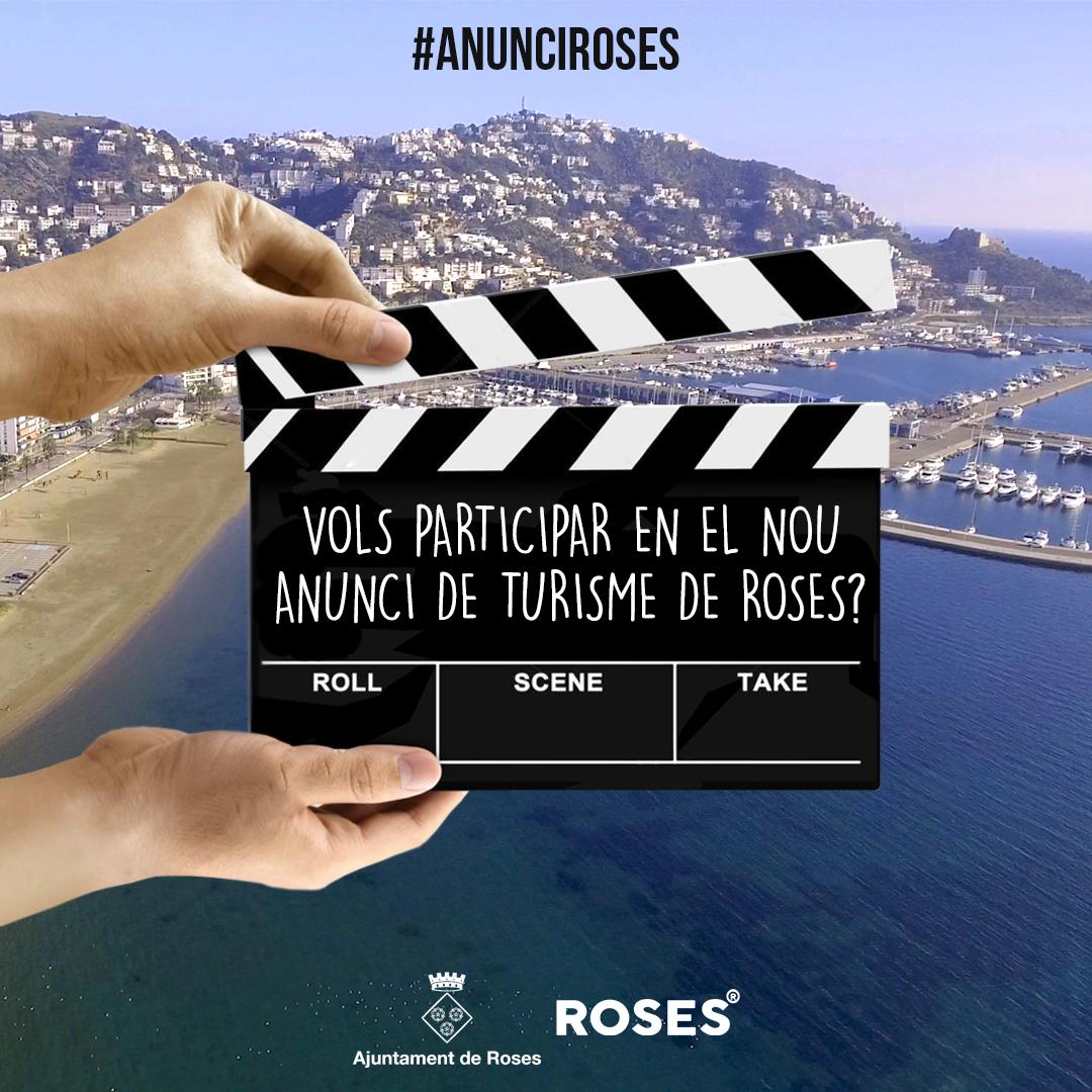 Càsting per gravar un anunci promocional de Roses