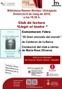 Club de lectura a Castelló d'Empúries