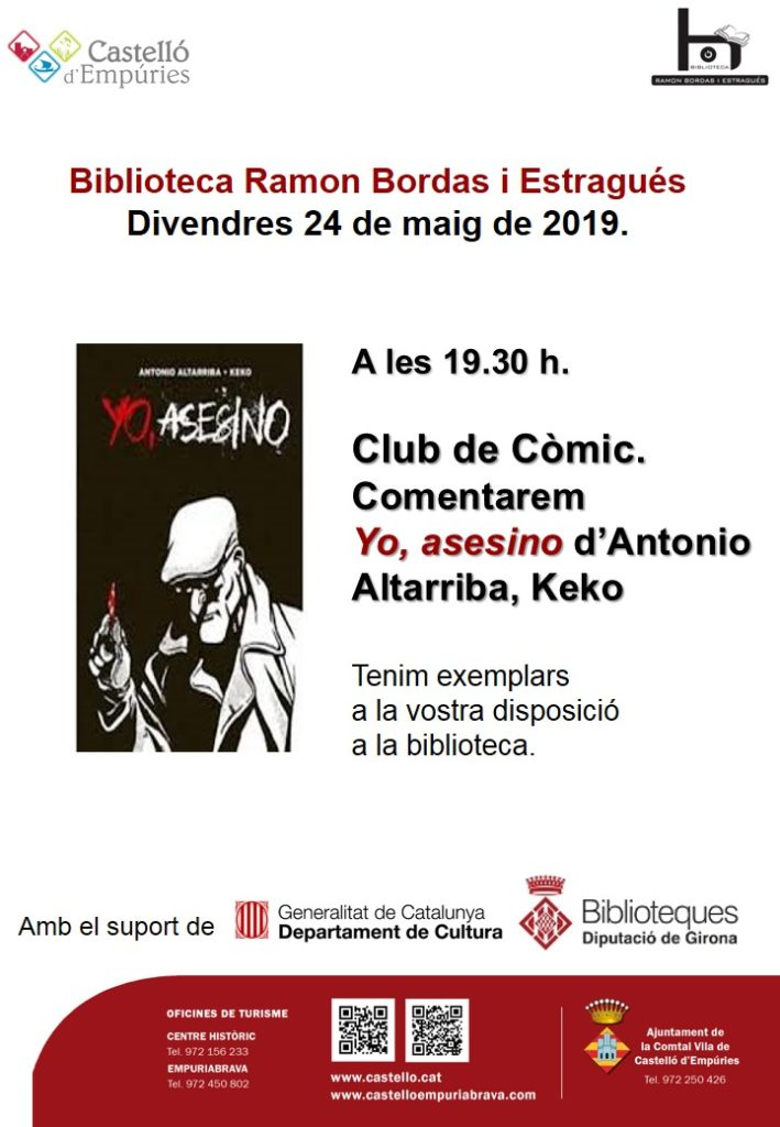 Club del Còmic a Castelló d'Empúries