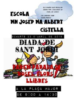 Diada de Sant Jordi a Cistella