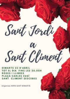 Sant Jordi a Sant Climent Sescebes