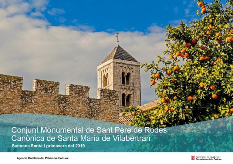 Programació de primavera Sant Pere de Rodes i Vilabertran
