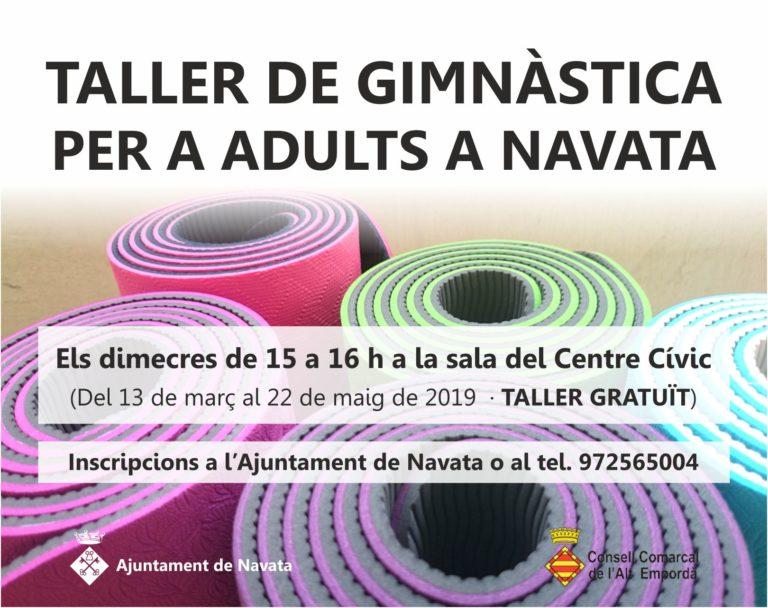 Taller de gimnàstica per a adults a Navata