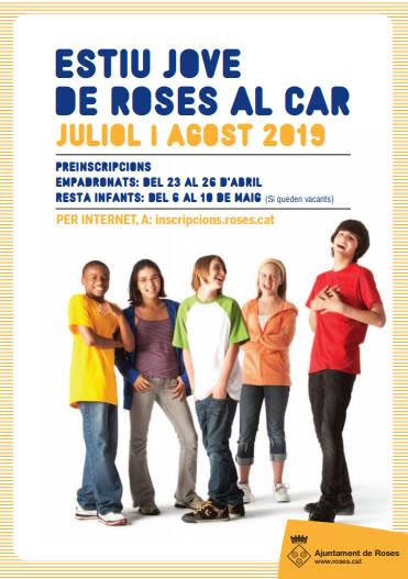 ESTIU JOVE DE ROSES AL CAR