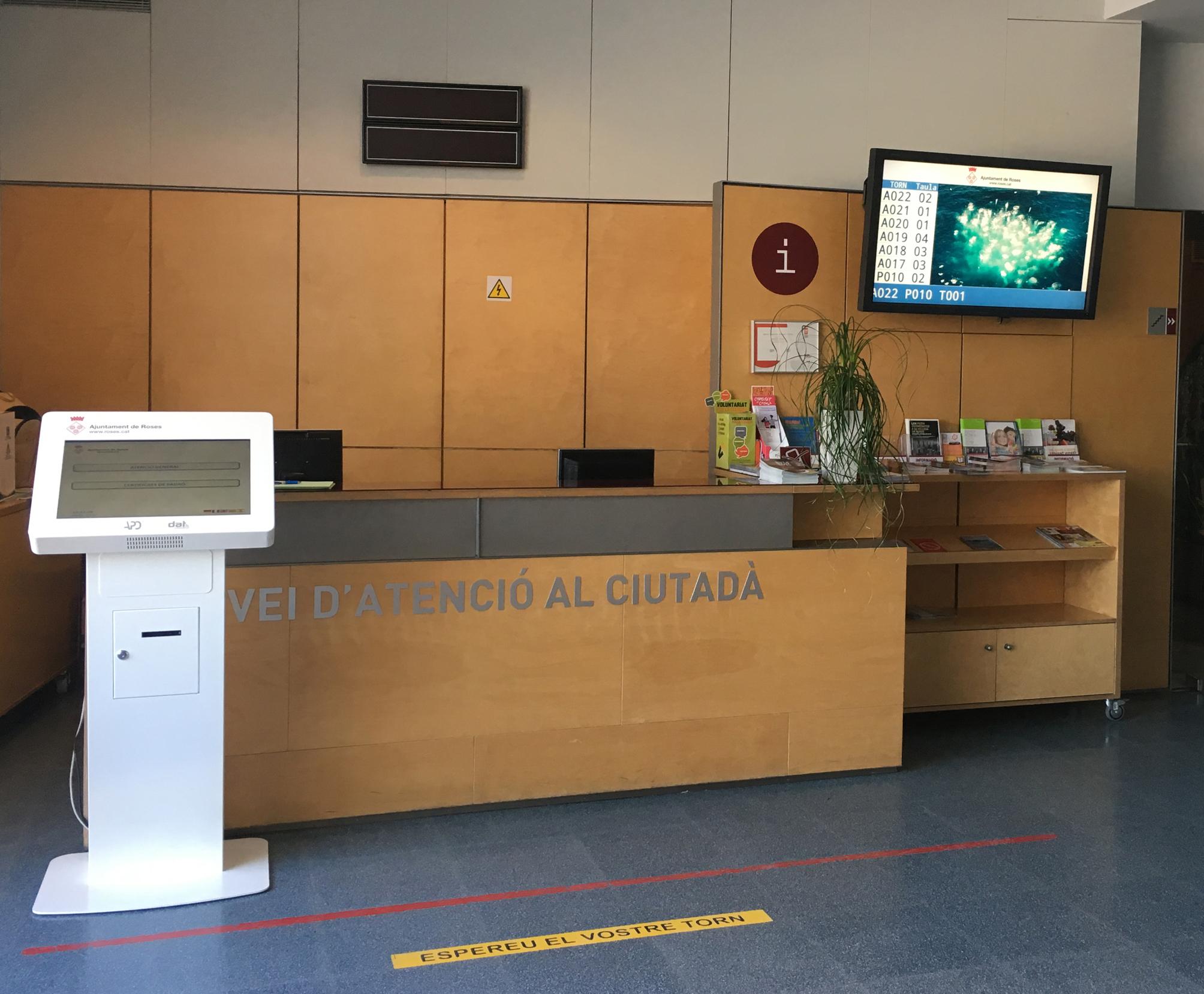 El Servei d'Atenció al Ciutadà de l'Ajuntament incorpora un gestor de cues per agilitzar les consultes