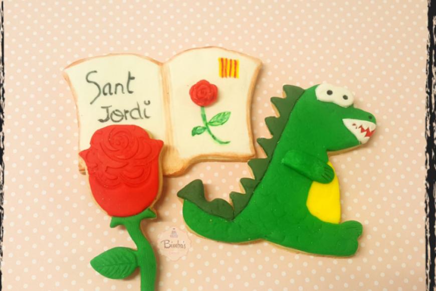 """Taller: """"Decoració de galetes per a sant Jordi"""""""