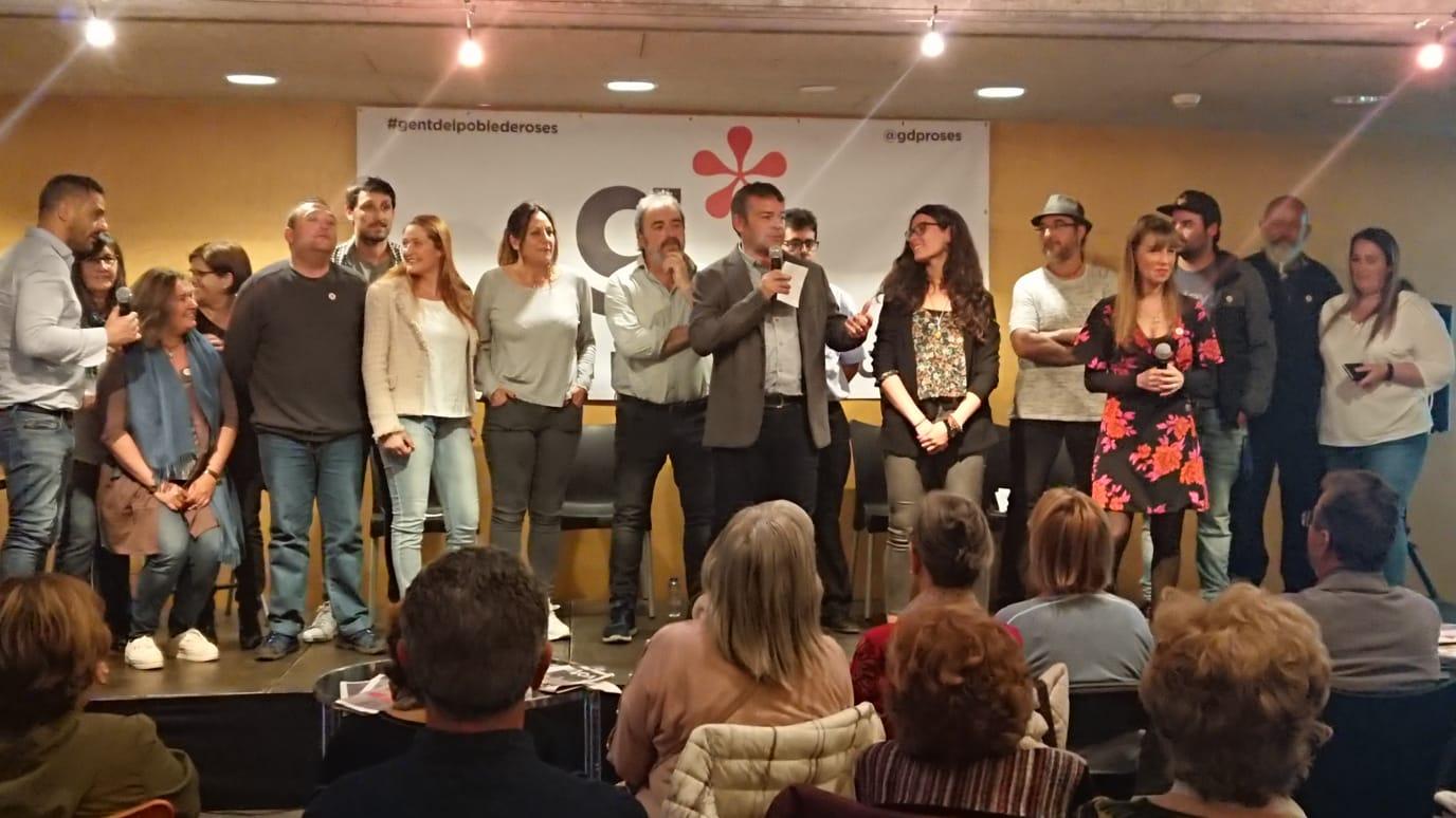 El grup Municipal de Gent del Poble de Roses, presenta el seu programa electoral al TMR